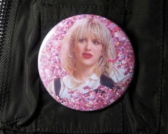 Courtney Love Pinback Button