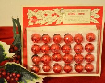 Vintage Shiny Brite Miniature Glass Ornaments