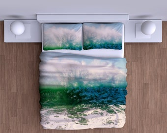 Crashing Waves Duvet Cover - Super Soft Duvet