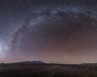 Milky Way - Starry Sky - Stars - Starry Sky Photo - Milky Way Photo - Sky - Space - Digital Photography - Digital Download - Wall Art
