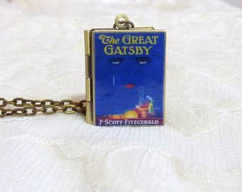 The Great Gatsby Story Locket