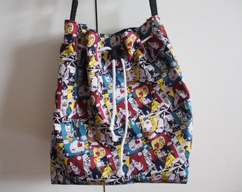 Comic Strip Bucket Bag
