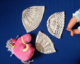 Cotton crocheted babies summer hat
