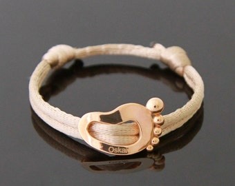 LITTLE FOOT 14 karat gold bracelet