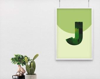 Nursery Wall Art, Print, Girls Room Wall Art, Wall Art Geometric, Wall Art Kids, Downloadable file