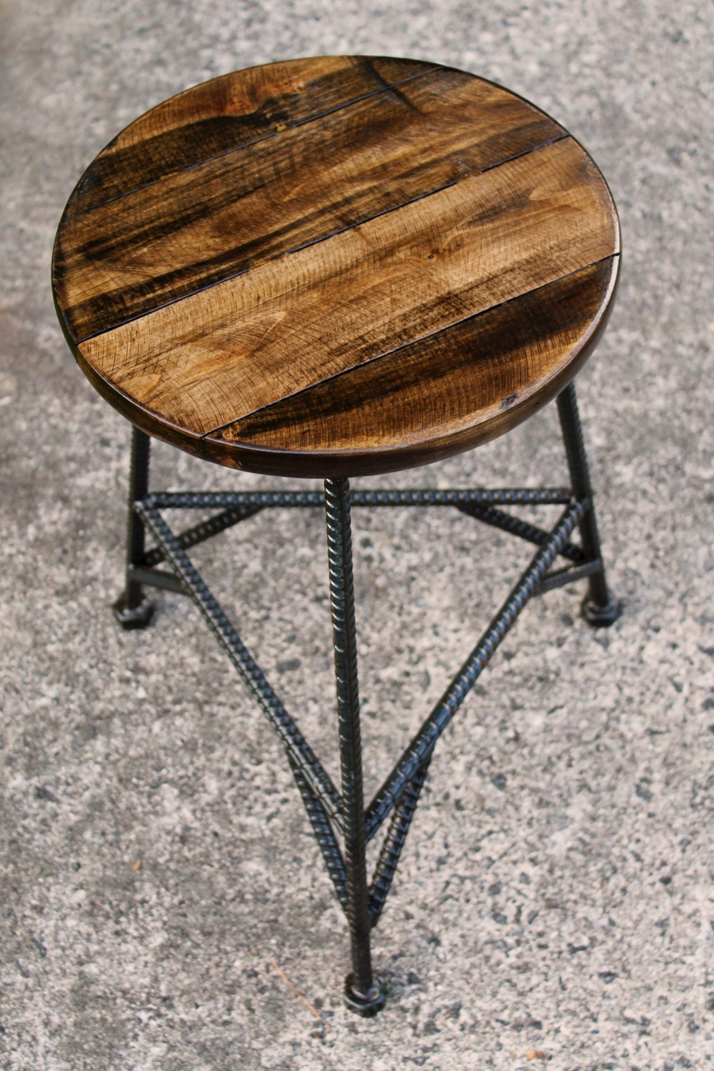 Reclaimed Wood Bar Stools Metal Bar Stools Industrial Bar