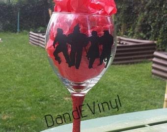 Wizard Of Oz Wine Glass