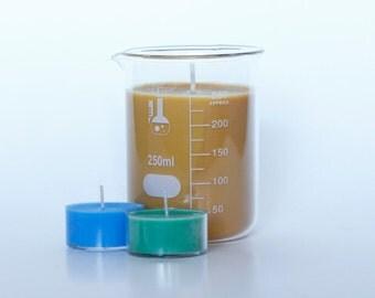 Vanilla Hazelnut Coffee Soy Candle - Beaker