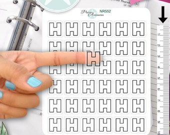 Clear Hospital Stickers Medical Stickers Doctor Stickers Planner Stickers Erin Condren Functional Stickers Decorative Stickers NR552