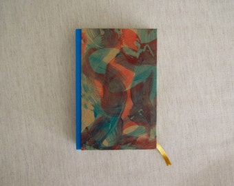 Notebook bound with Handmade Paper
