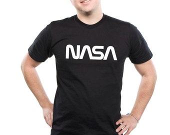 Nasa T Shirt Space  Exploration tshirt Vintage Man's Top T-Shirt