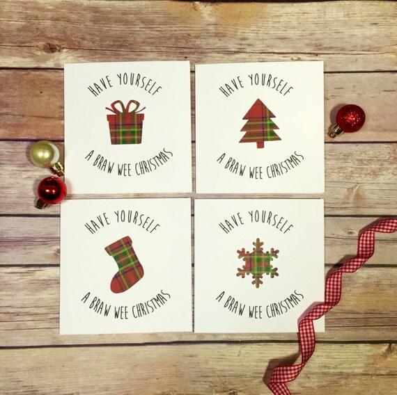 Scottish christmas cards tartan cards christmas multipack like this item m4hsunfo