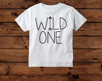Wild One shirt, modern shirt, arrow shirt, first birthday shirt, first birthday wild one, todder wild one