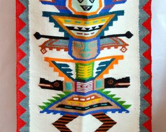 Vintage tribal textile