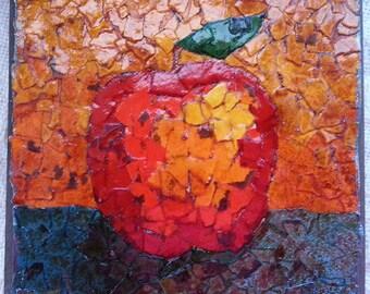 Apple Torn Paper