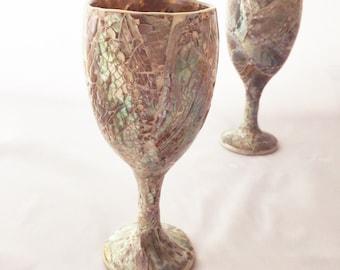 Shell Wine Glass