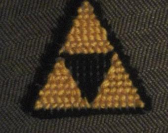 Legend Of Zelda: Triforce Keychain