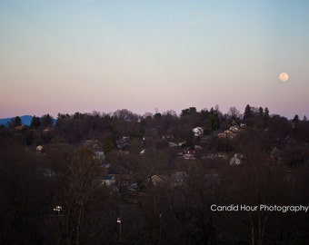Full Moon Over Staunton