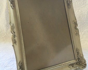 Vintage Wedding Baptism Special Occasion Photo Metal Photo Frame