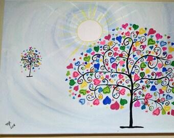 Sunny Sweetheart Tree