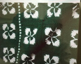 St Patty's Day afghan.
