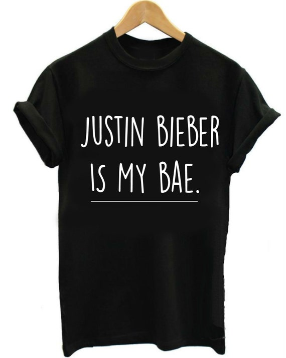 Justin Bieber Shirt Justin Bieber Is My Bae Justin By