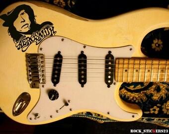 Aerosmith sticker Steven Tyler vinyl decal no background