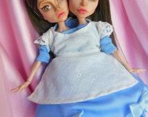 OOAK Bette and Dot Monster High Doll Repaint