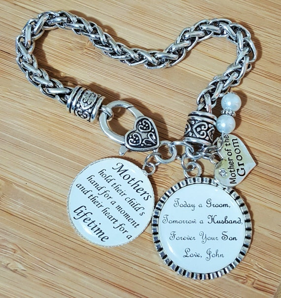 Mother of the Groom Gift Mother of the Groom Bracelet Mother of the Groom Gift from Son Mother of the Groom Gift from Groom Wedding Gift Mom