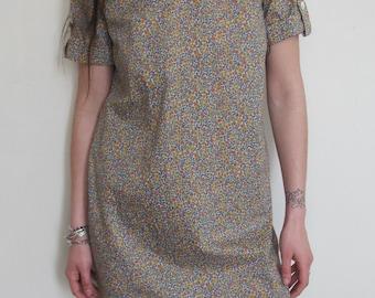 Rare Vintage Couture Liberty Dress