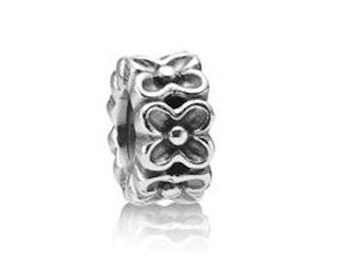 Authentic Pandora Aloha Spacer Charm Bead Retired
