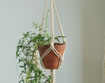 Macrame pot hanger etsy for Indoor gardening market size