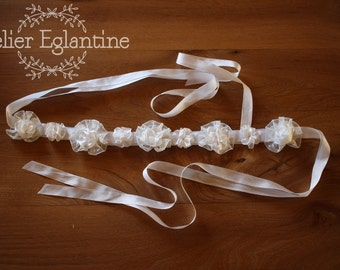 Headband vintage for bride spirit