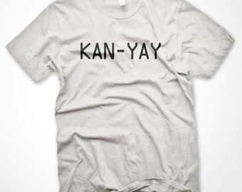 Kanye West KAN YAY Birthday T-Shirt