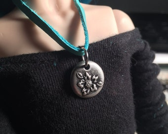 "BJD ""Leather"" Custom Made Charm Necklace"