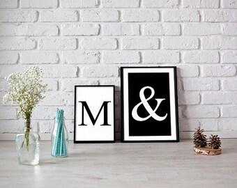 Custom letters prints