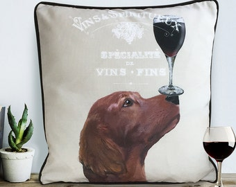 Irish setter gift Red setter pillow irish setter pillow red setter gift Dog Home Décor Cute Pillow Dog Pillowcase  dog cushion cover