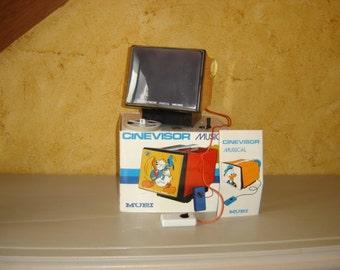Cinevisor musical Mupi Vintage. Disney. Donald. Cartoon. Films. Italy