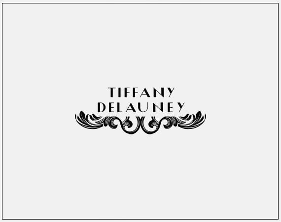 Premade Logo Design // Baroque Logo // Elegant Logo // Filigree Logo ...