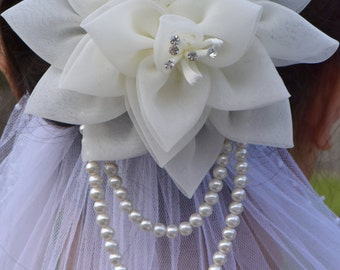 Wedding hairpiece / bridal hairpin / bride hair accessories / Wedding hair accessory