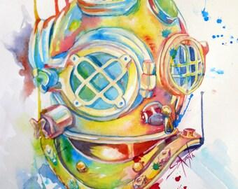 Deep Sea Diver (Print)