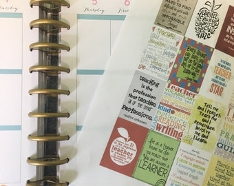 Teacher Quotes 1 for Happy Planner