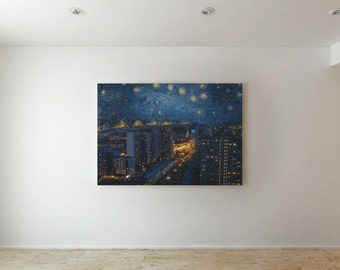 A picture in russian reality - Canvas decor
