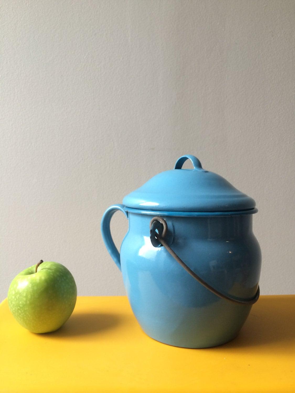 Ancien pot maill chaudron maill d coration cuisine for Art et cuisine chaudron line