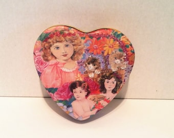 1993 Fannie May Chocolates Doll Tin