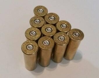 38 Special Bullet Casing - Silver Primer - Lot of 10 - Sku 109