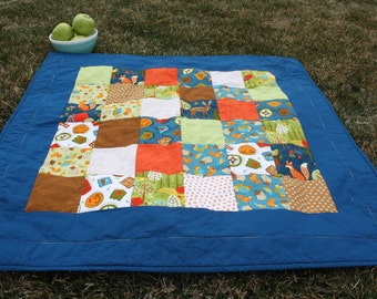 Woodland Forest Baby Quilt