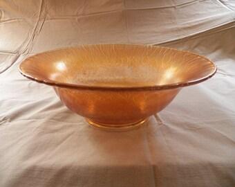 Iridescent, Marigold, Carnival Glass - 1930s