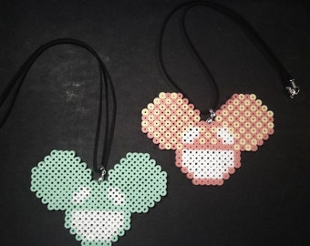 Deadmau5 Necklace Perlers