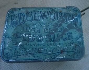 Antique Edgeworth Tobacco Tin